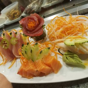 Sashimi Combination Roll